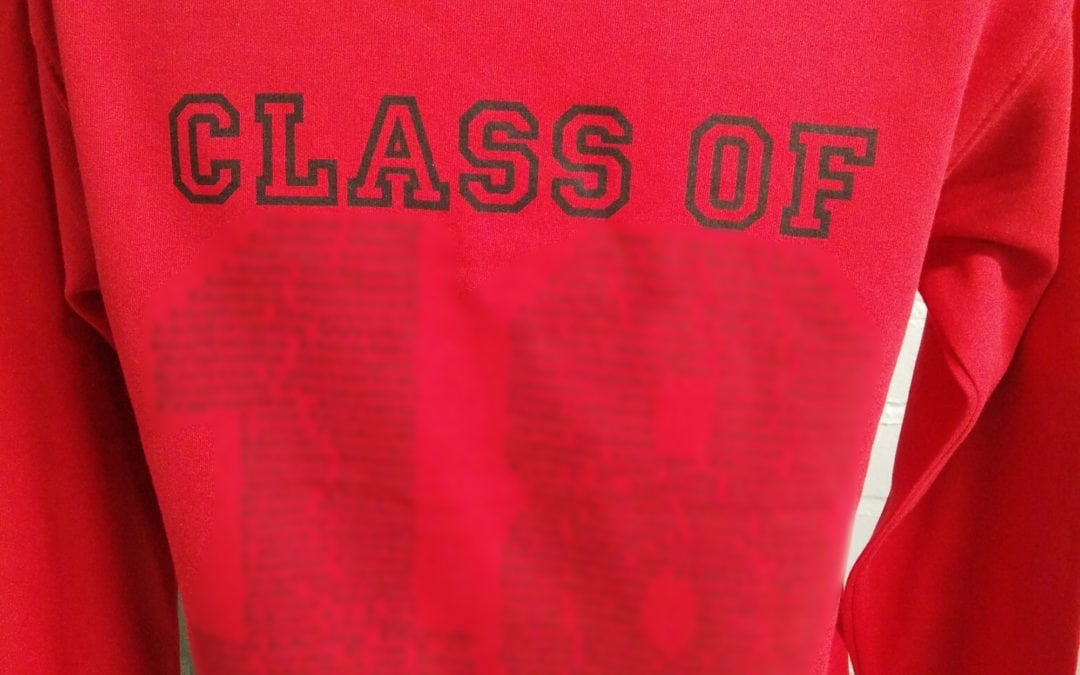 Eagles Red Class of 2018 Leavers Hoodies 3