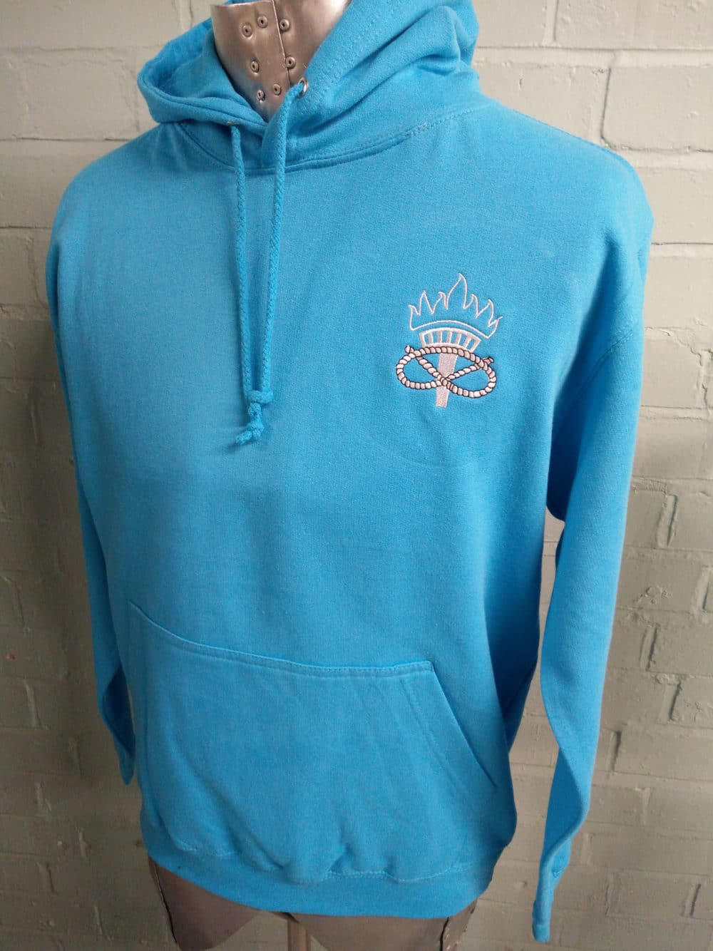 Light Blue Leavers Hoodies Class of 2018