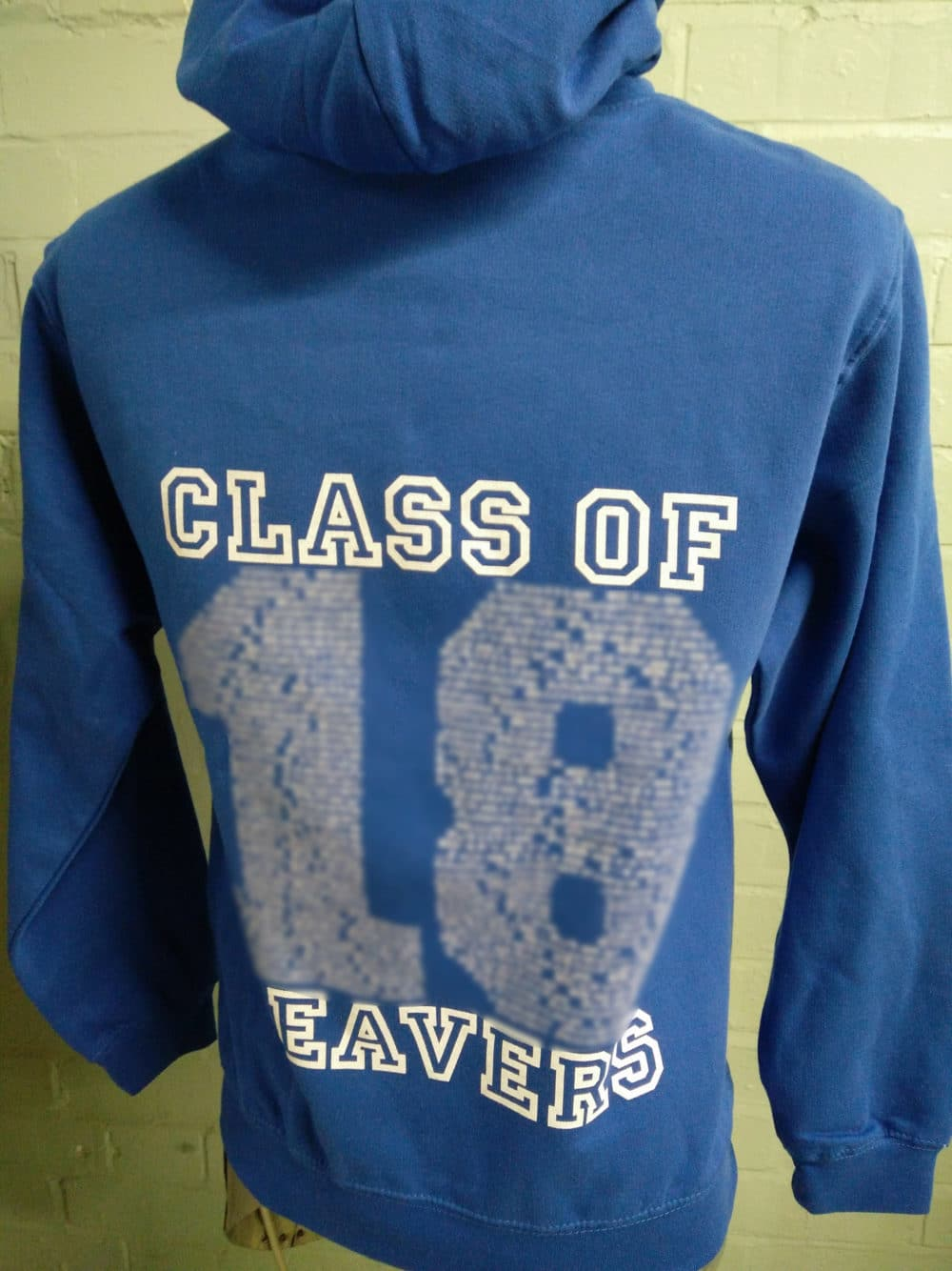 Mapplewells 2018 Blue Leavers Hoodies
