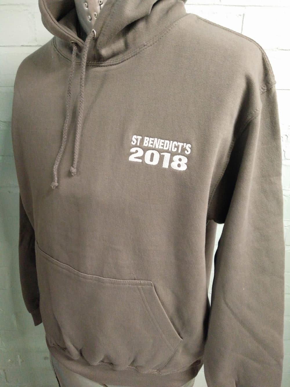 St Benedicts Grey Leavers Hoodies