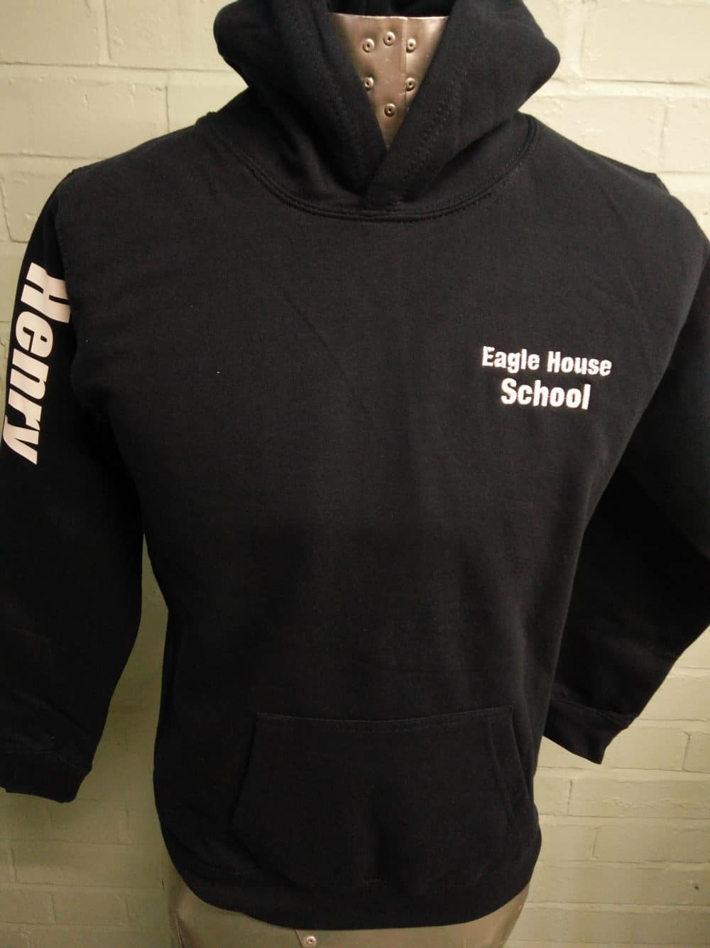 Eagle House School Black Leavers Hoodies Class of 2018