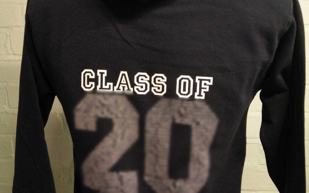 Eagle House School Black Leavers Hoodies Class of 2018