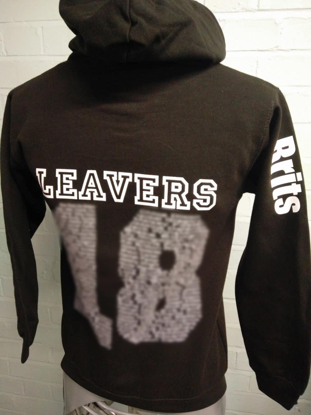 Gregson Lane Black Leavers Hoodies Class of 2018 1