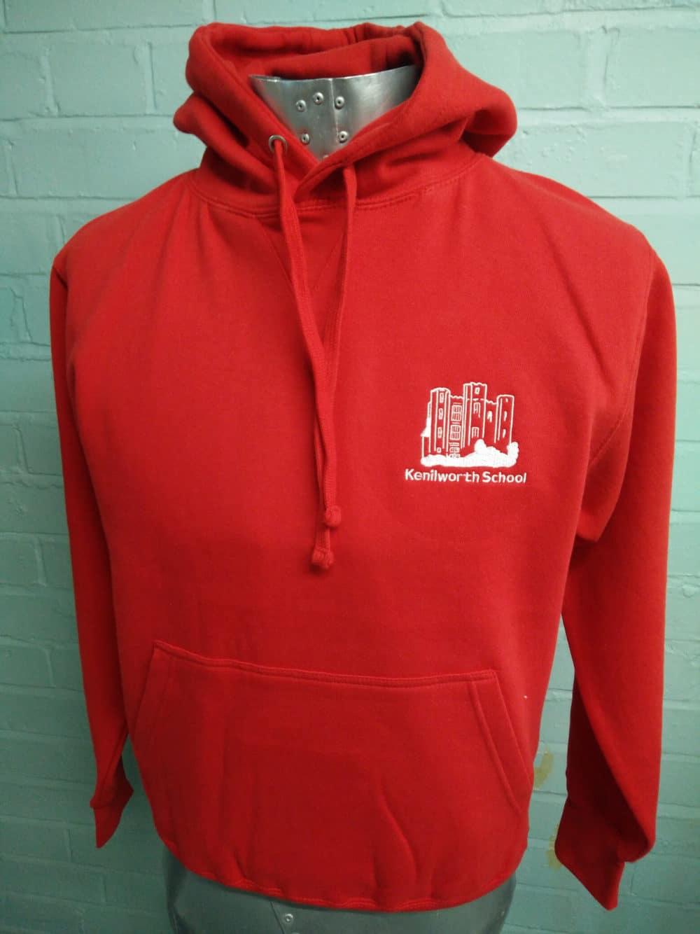 Kenilworth School Red Leavers Hoodies Class of 2018