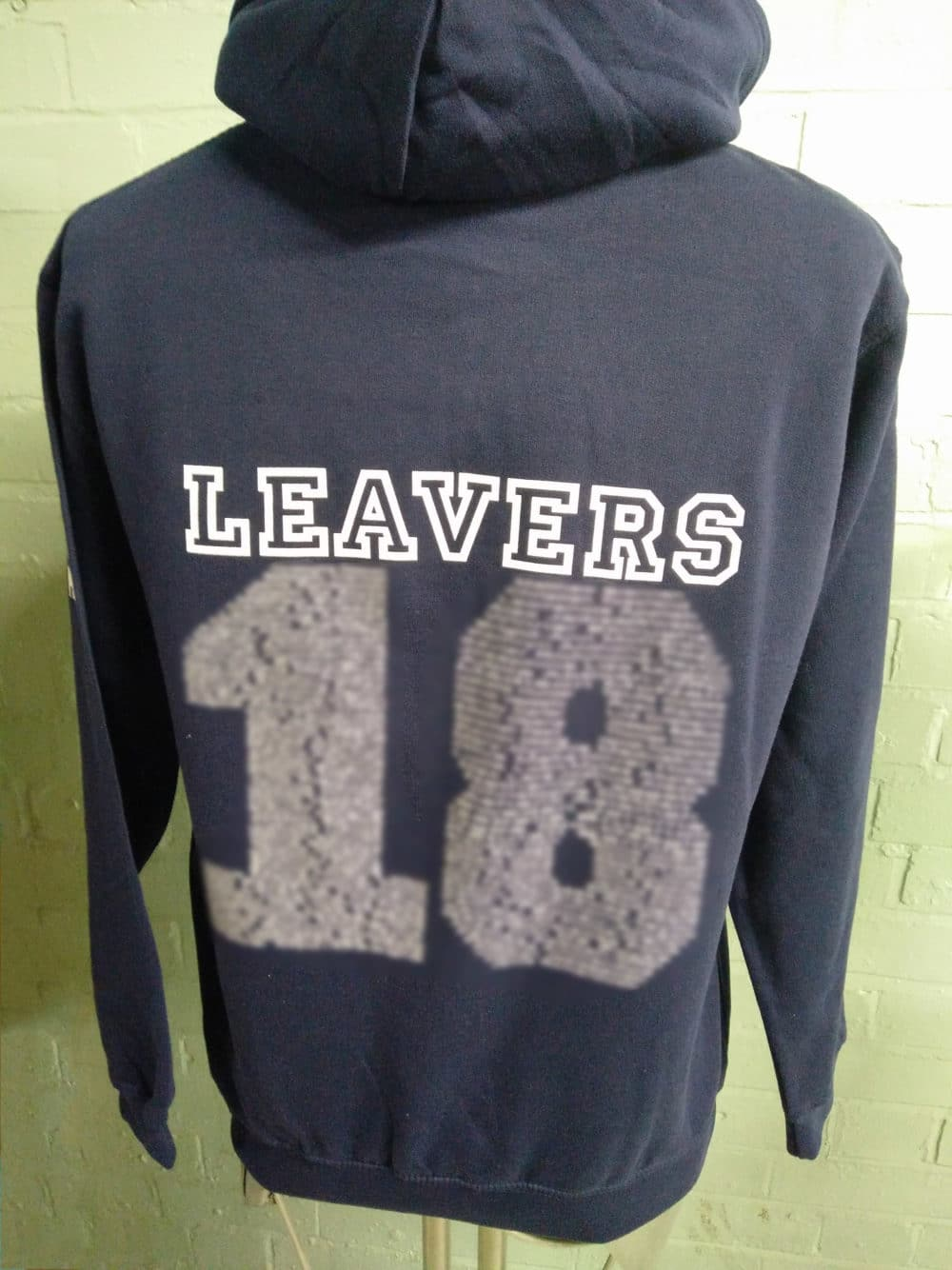 St James the Great Class of 2018 Navy Leavers Hoodies
