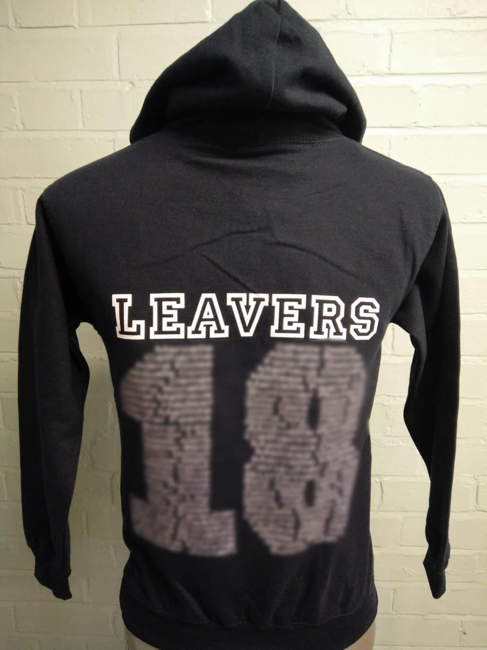 St Marys Black Leavers Hoodies Class of 2018