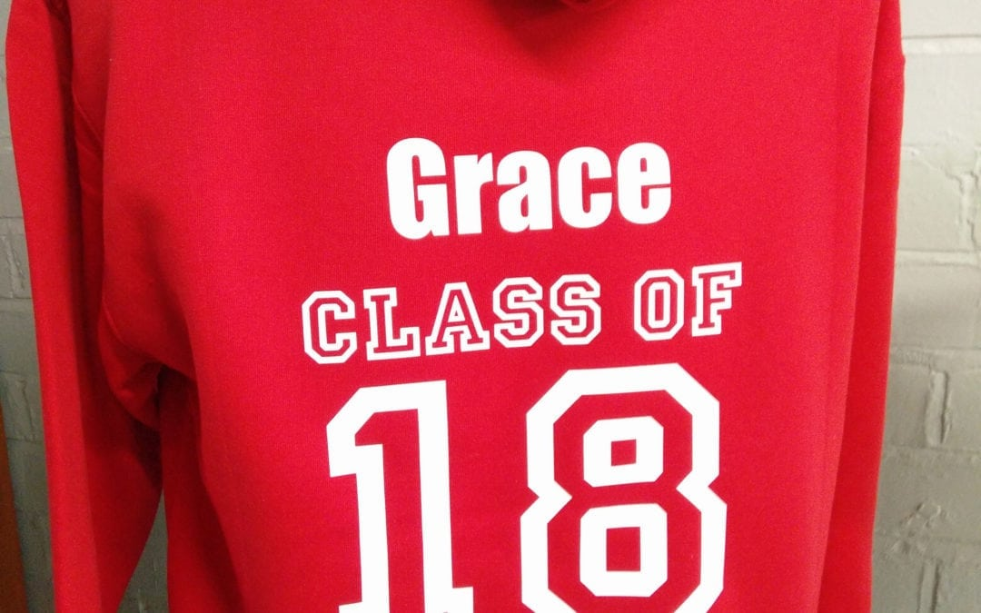 Stapleford Abbots Red Class of 2018 Leavers Hoodies