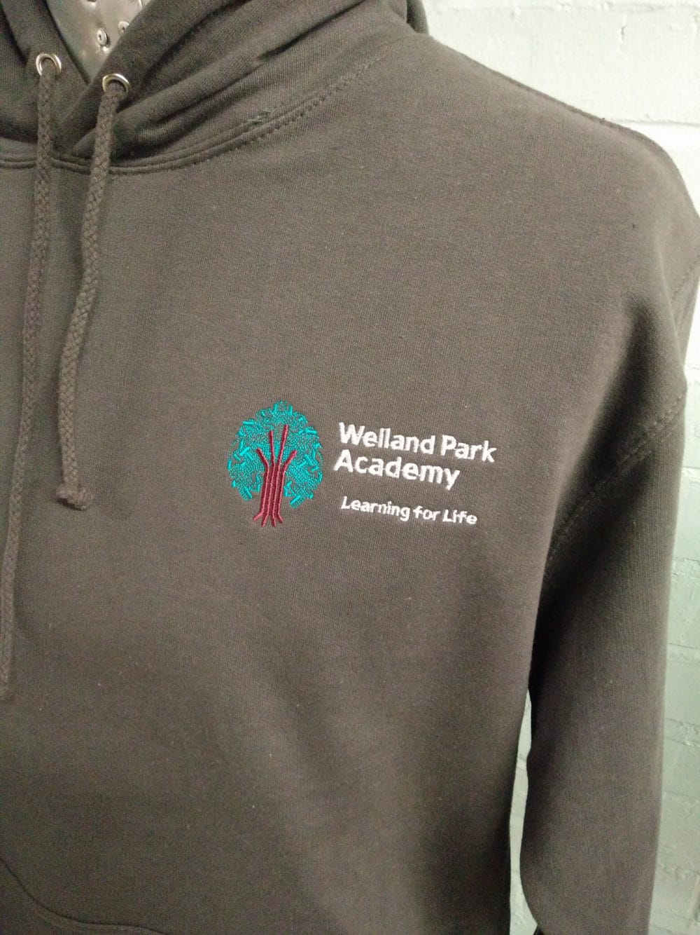 Welland Park Academy Grey Leavers Hoodies 2018