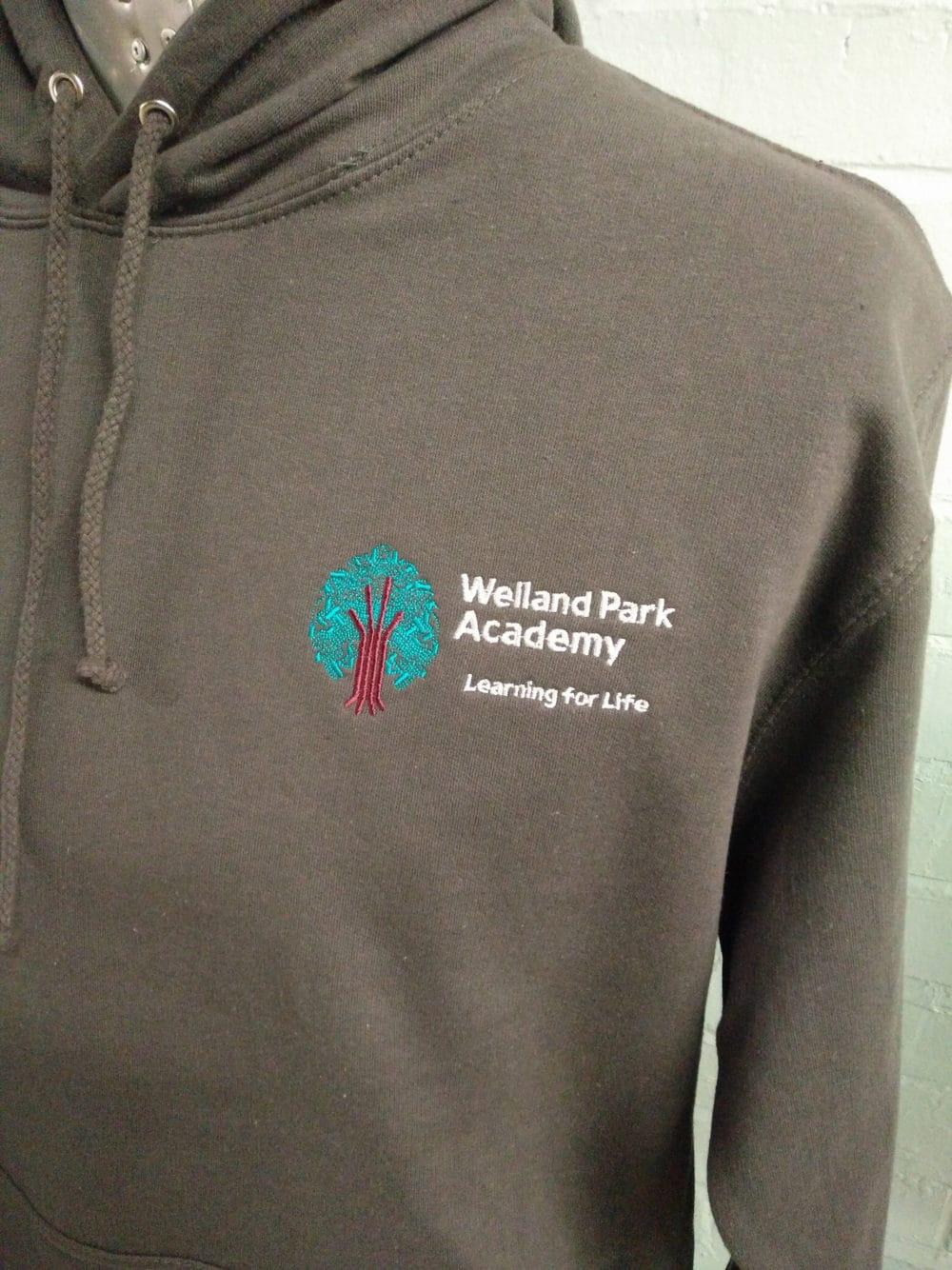 Welland Park Academy Grey Leavers Hoodies 2018