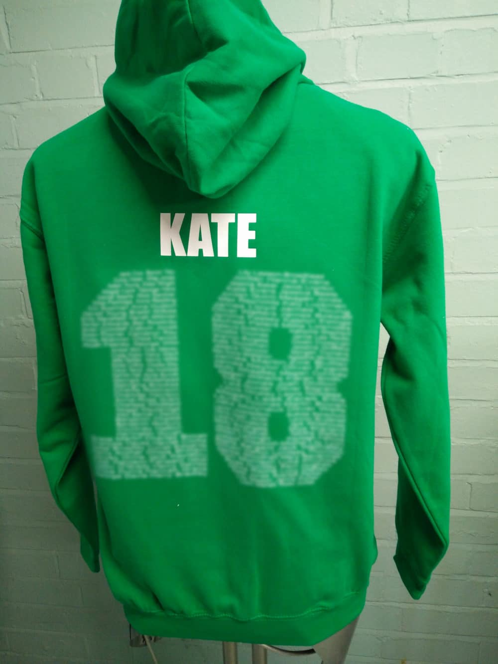 William Brookes School Green Leavers Hoodies Class of 2018
