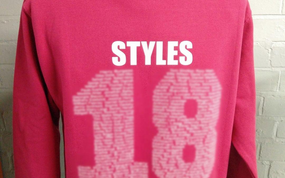 Wymondham Pink Leavers Hoodies Class of 2018 Custom Printed