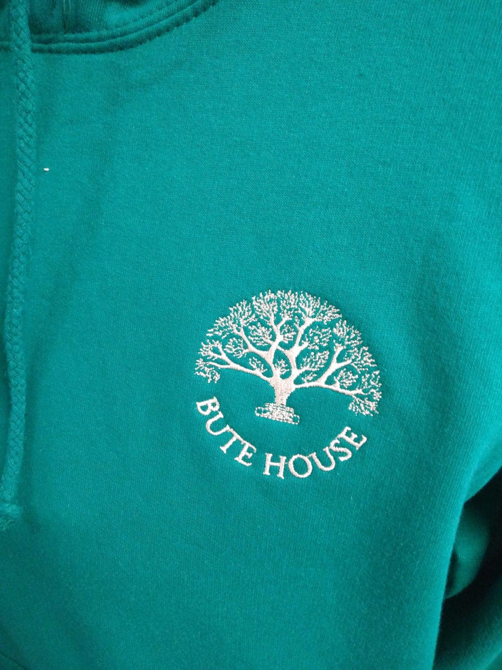 Bute House Aqua Leavers Hoodies 2018
