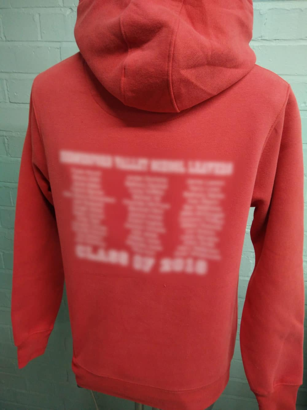HVH Red Leavers Hoodies Class of 2018