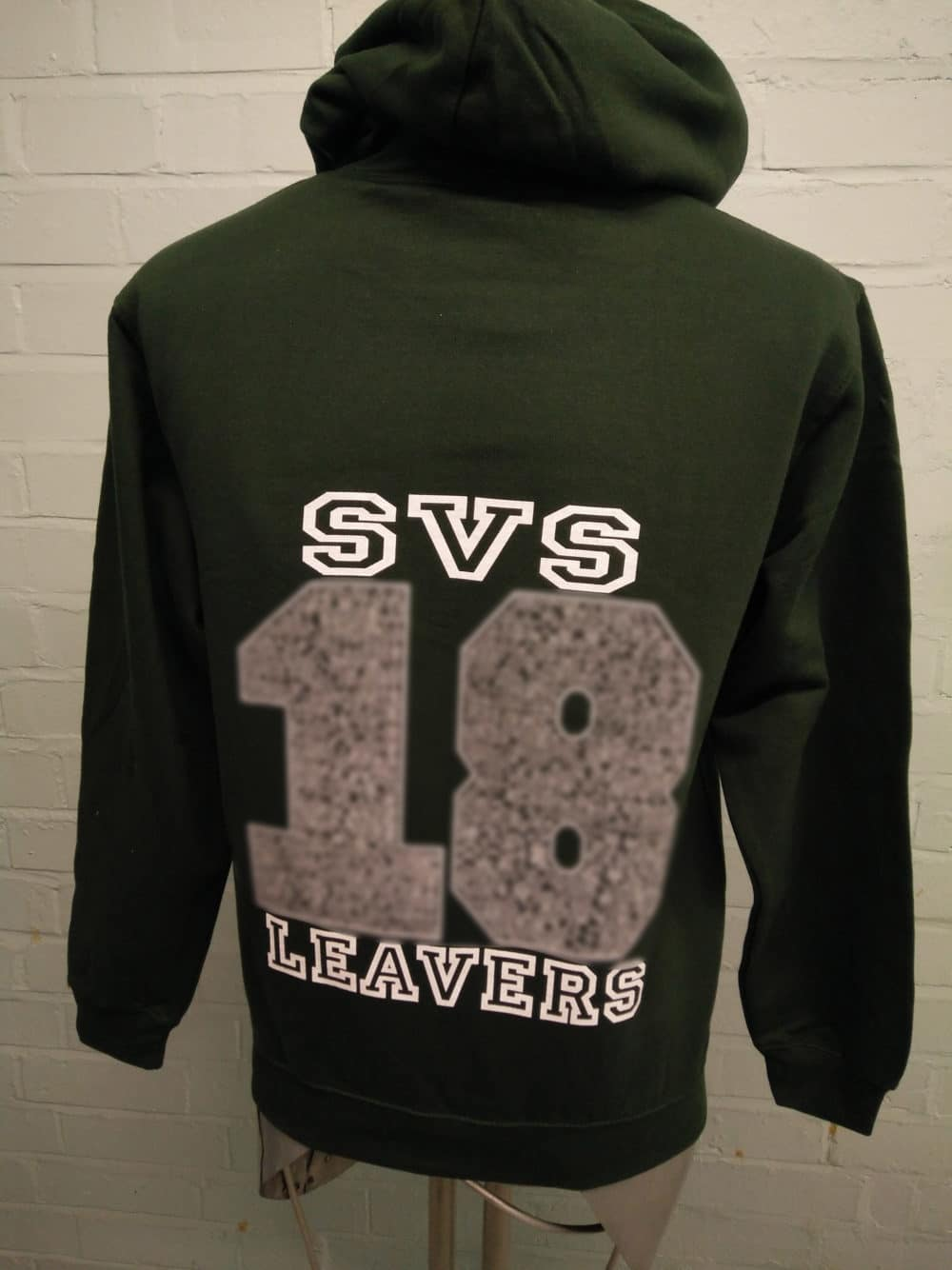 SVS Leavers Hoodies in Black for 2018