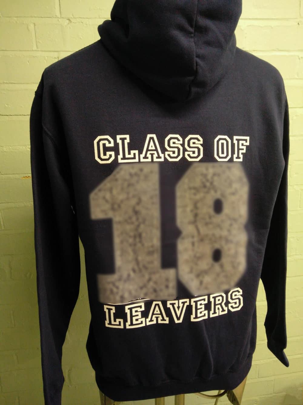 Swallowdale School Class of 2018 Navy Leavers Hoodies