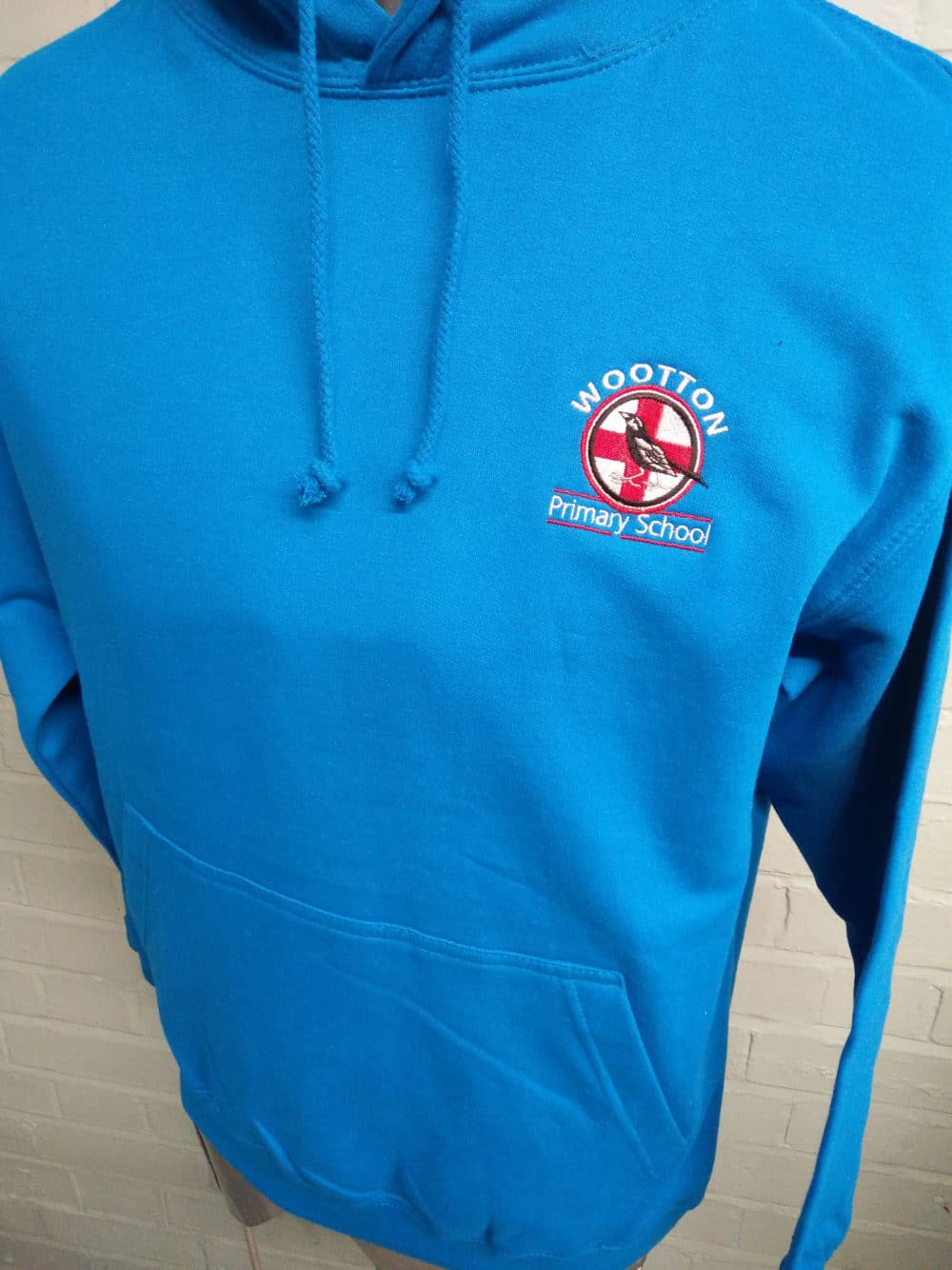 Wootton Primary School Leavers Hoodies in Blue Class of 201