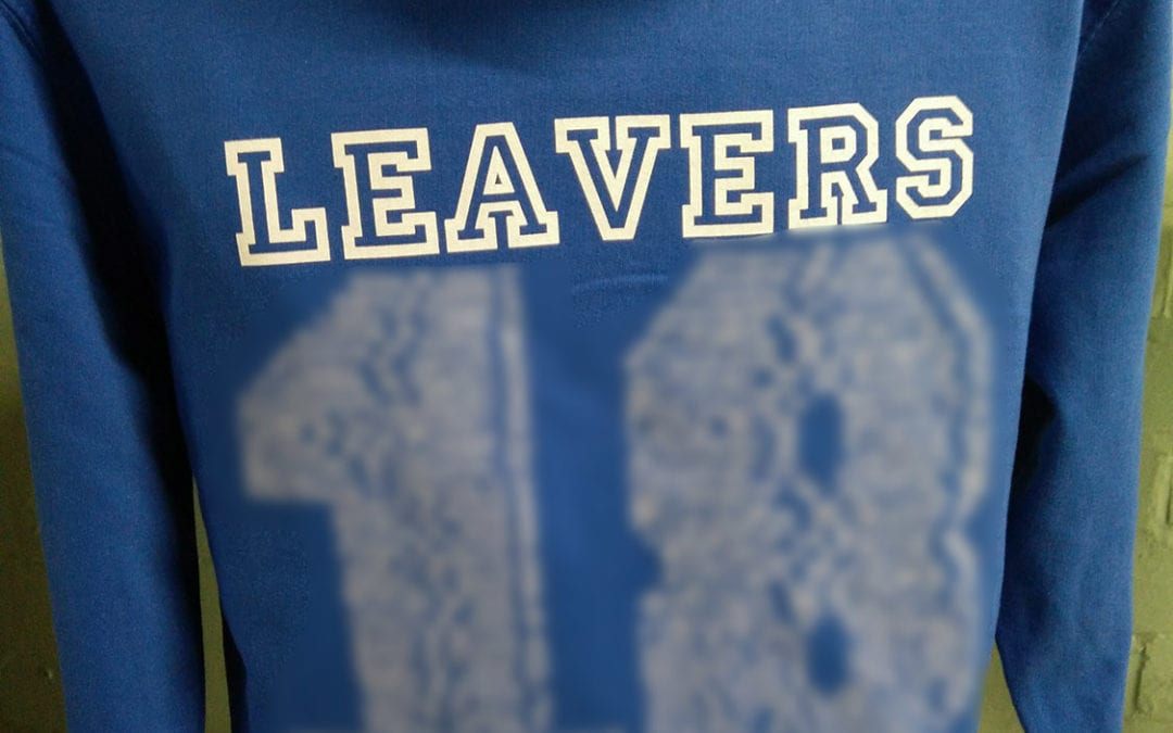 Meridian CPS Leavers Hoodies Class of 2018 in Blue