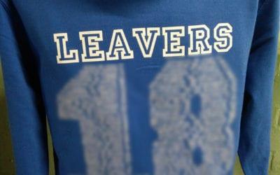 Meridian CPS Leavers Hoodies Class of 2018 in Blue