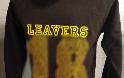 St Peters School Black Leavers Hoodies 2018 Class