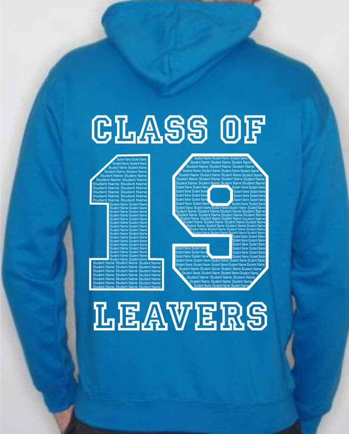 Leavers Hoodies Name Designs 9