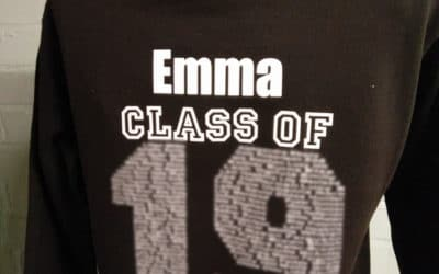 Class of 2019 Black Leavers Hoodies