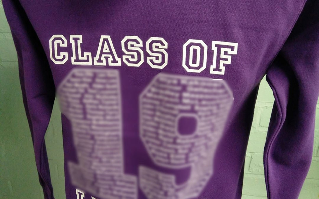 Sandwood PS Purple Class of 2019 Leavers Hoodies