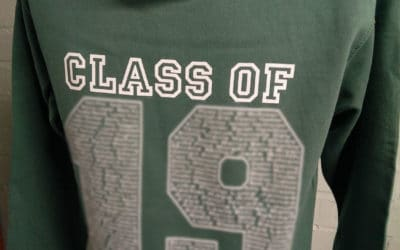 Wirrel GS Class of 2019 Green Leavers Hoodies