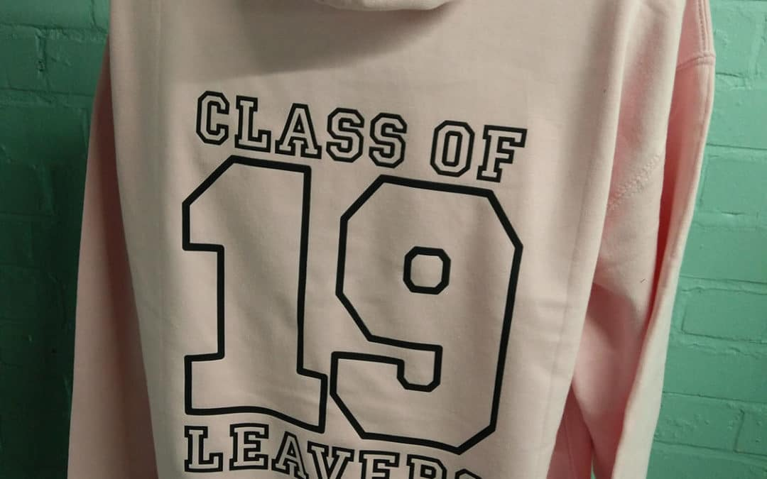 SGS College Light Custom Print Leavers Hoodies for Class of 2019