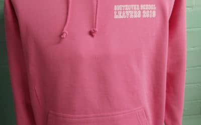Southover School Pink Leavers Hoodies 2019