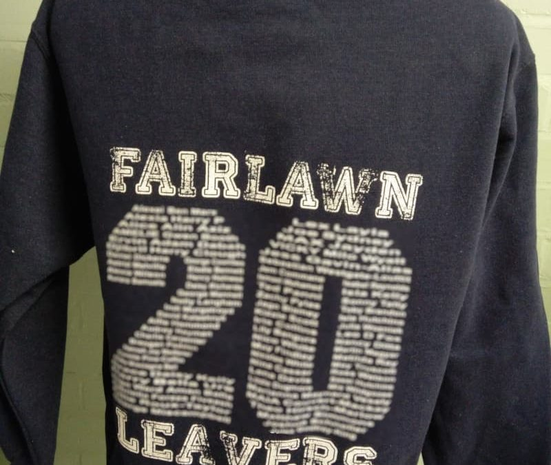 Assorted Leavers Hoodies with year name prints