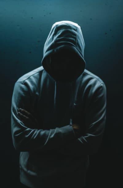Scary Hoodie, scary hoodie wearer