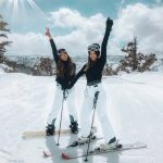 A great ski trip - happy people